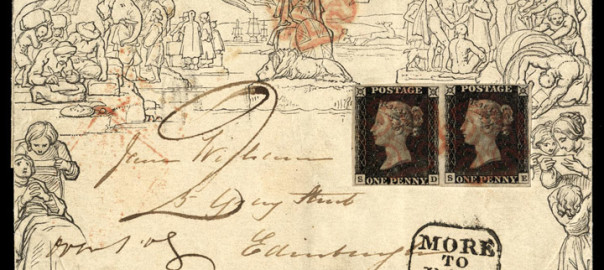 Penny Black – The first postage stamp of the world