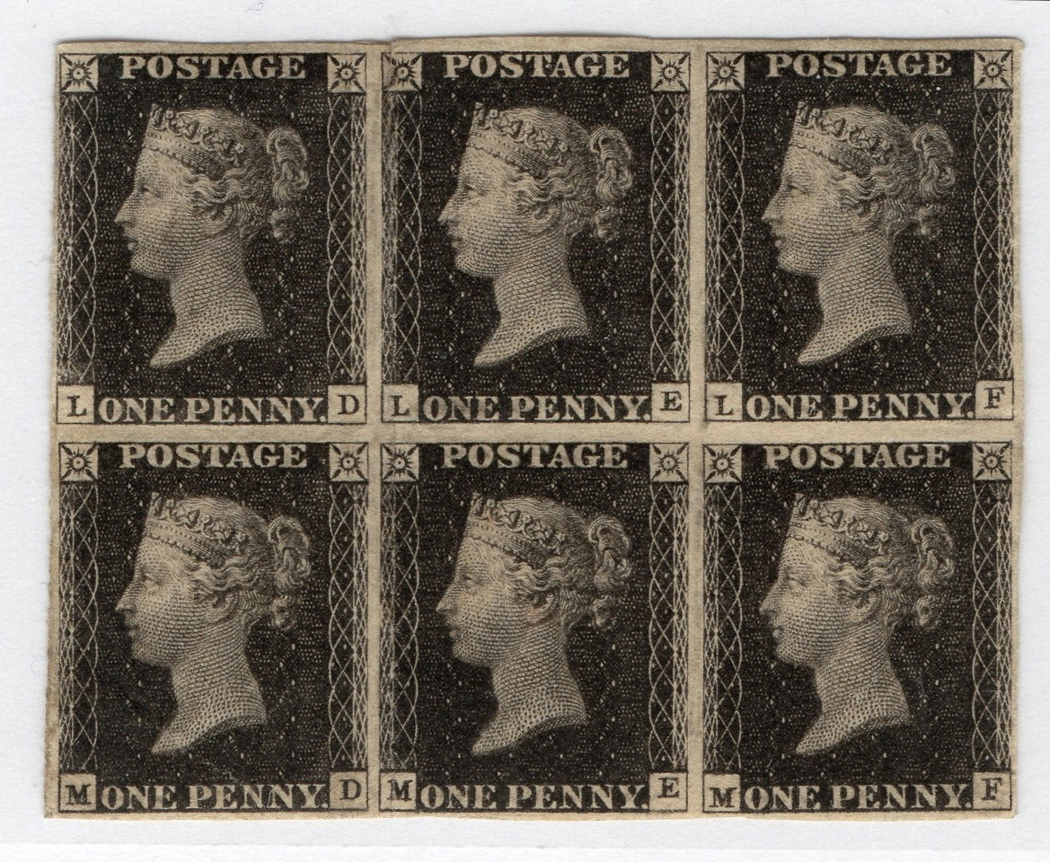 Penny Black – oldest postage stamp in the world