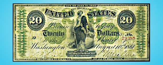 history of american money