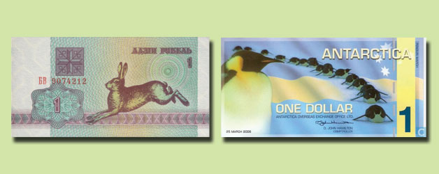 Wildlife on Banknotes