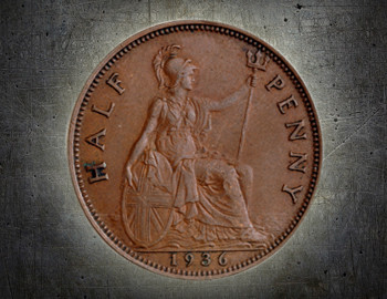 Britannia on coins and banknotes ( Feature image )