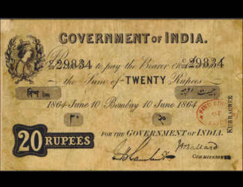 Indian Banknotes – British Indian Government Issues