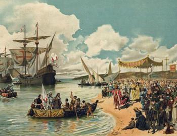 Vasco da Gama arrived on the coast of Calicut
