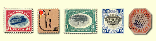 most famous inverted stamps
