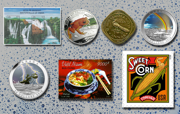 Monsoon Special Stamps & Coins