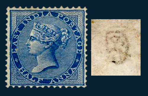 the other side of stamps - watermarks