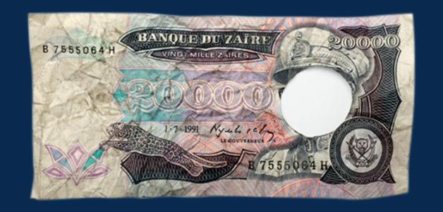 Strange banknotes Zaire
