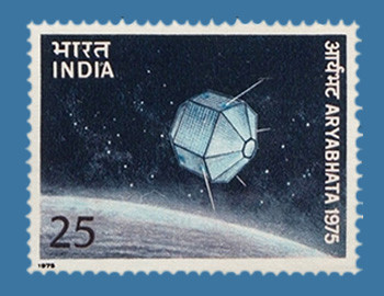 stamps featuring satellites