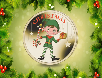 Merry Christmas 2016 coins and stamps