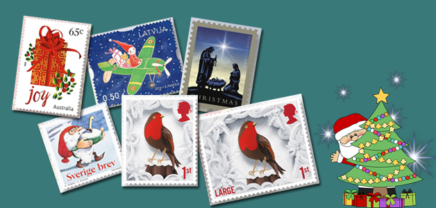Merry Christmas 2016 Stamps