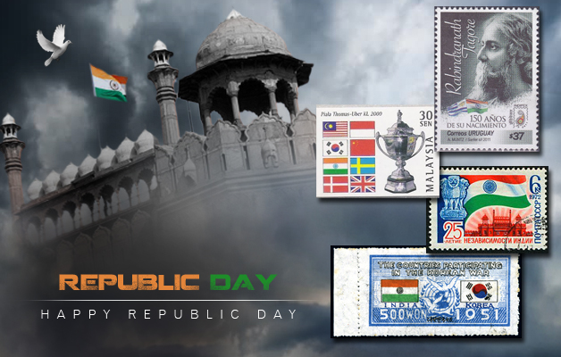 tiranga-on-stamps