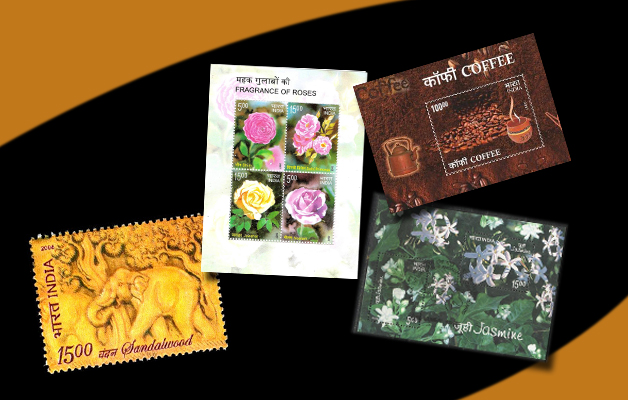 Scented stamps of India