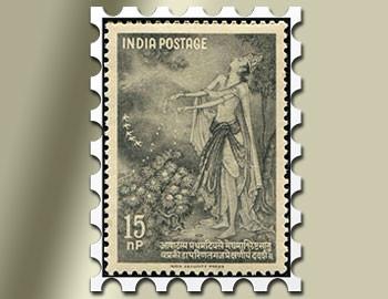 kalidasa stamp