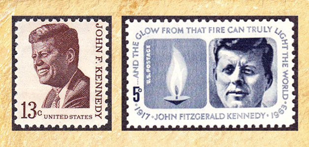 John F. Kennedy Stamps