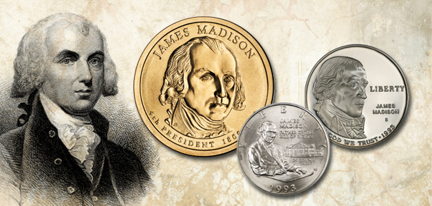 James Madison coins