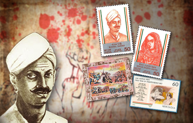 Mangal Pandey Stamps