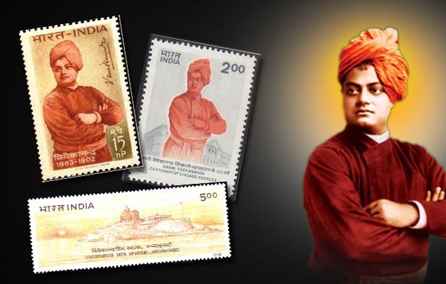Swami Vivekananda stamps