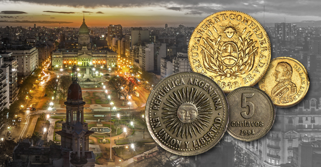 The currency of Argentina