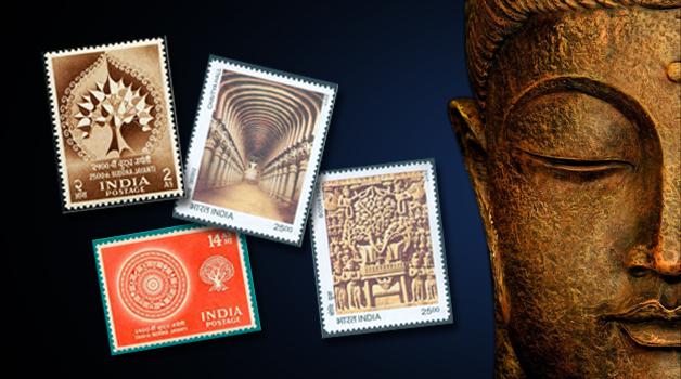 Lumbini festival stamps