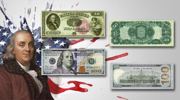 Benjamin Franklin Banknotes