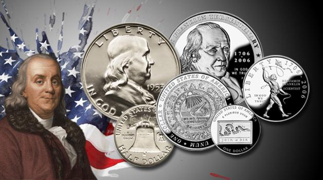 Benjamin Franklin Coins