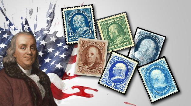 Benjamin Franklin Stamps