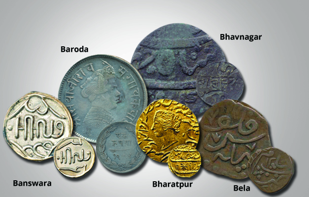 Indian Princely States Coins