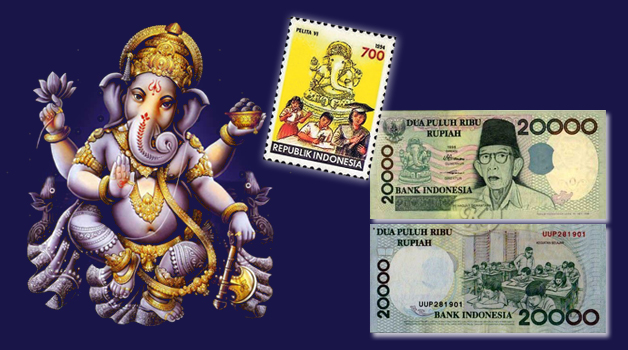 ganesha-on-stamps