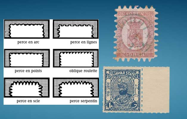 postage stamp separation