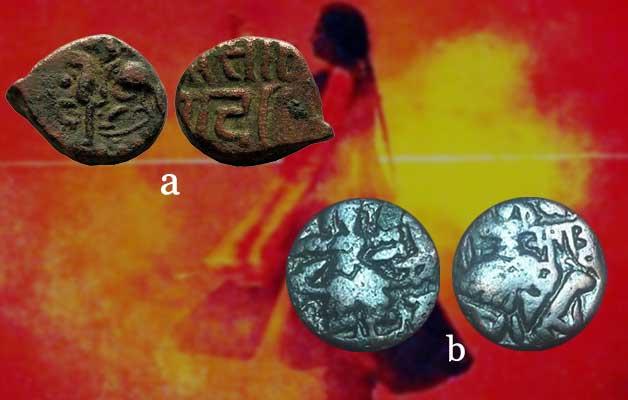 women-indian-coins