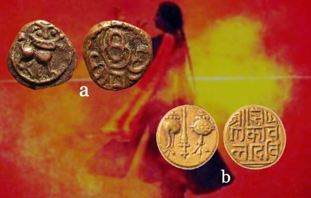 women-indian-coins