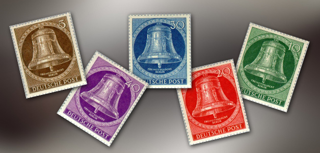 Freedom Bell Stamps of Berlin