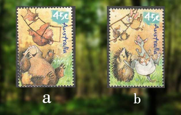australian-wild-babies-on-stamps