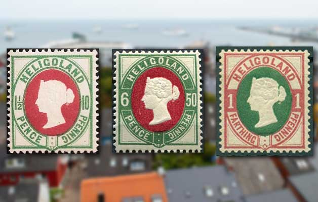 Stamps of Helgoland