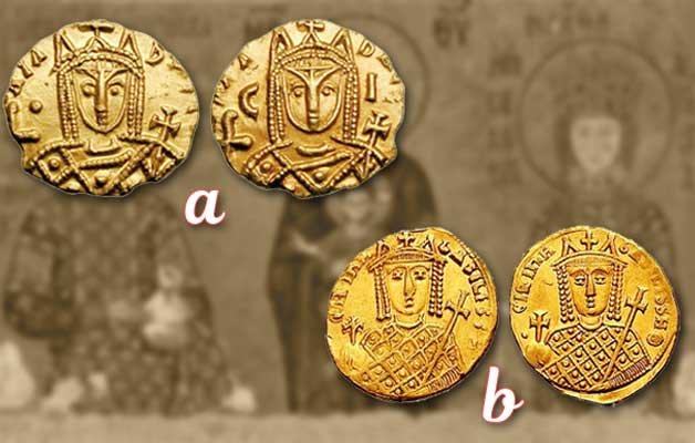 Coins of Empress Irene