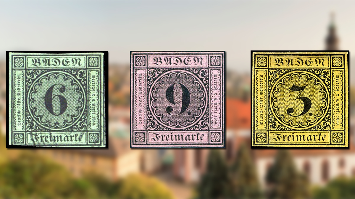 Stamps of Baden