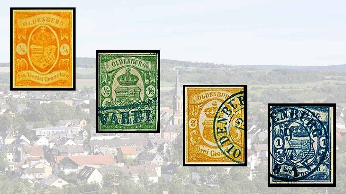 Stamps of Oldenburg