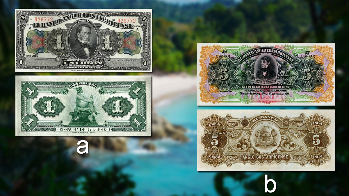Banknotes of Costa Rica