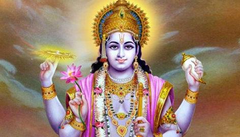 Incarnations of Lord Vishnu on stamps