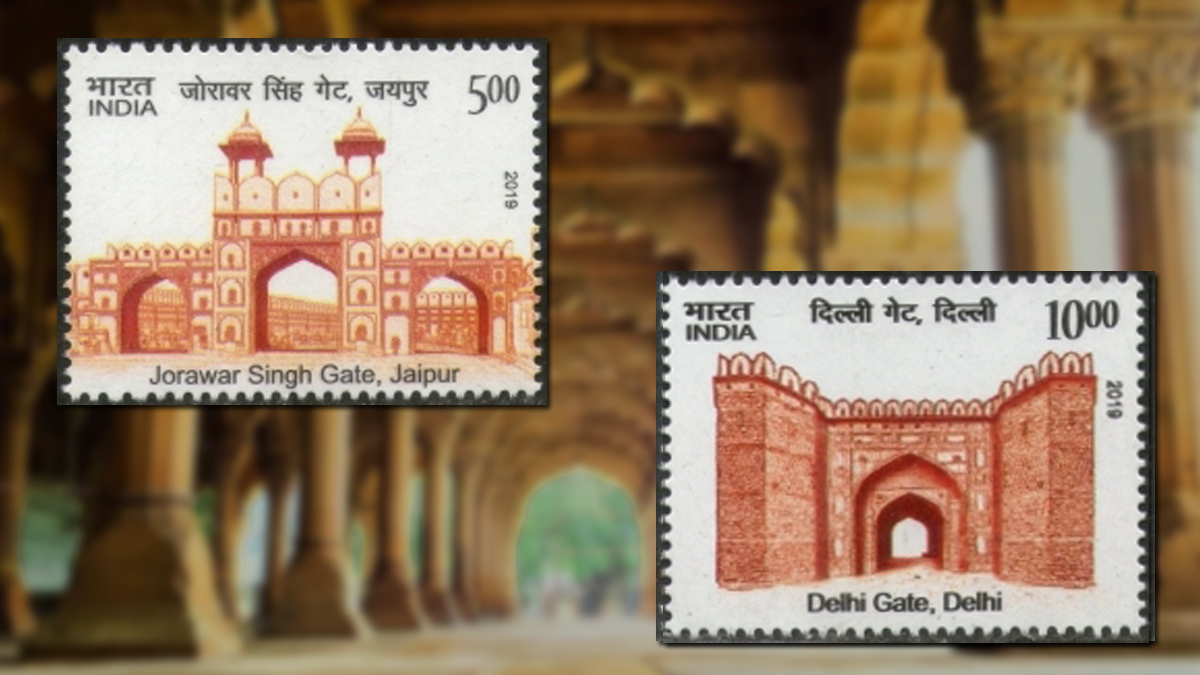 Doors on Stamps