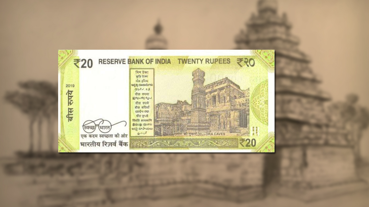 temples on banknotes