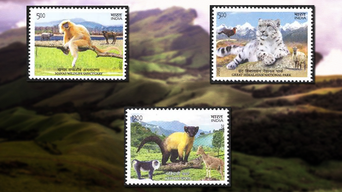 UNESCO World Heritage Sites in India featured on stamps