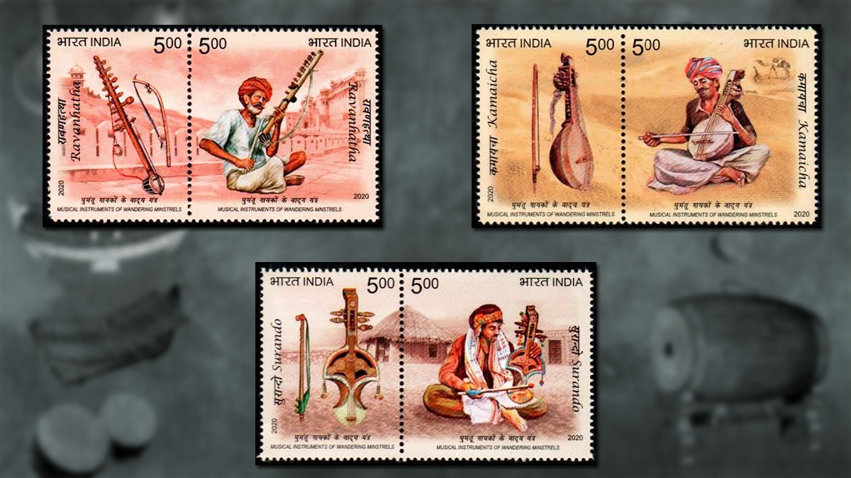 Fascinating Musical Instruments Featured on Indian Stamps