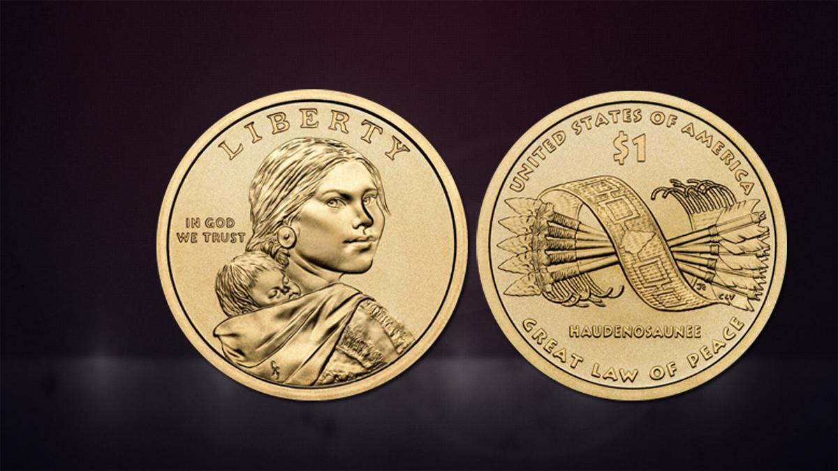 Native American 1 Dollar Coins