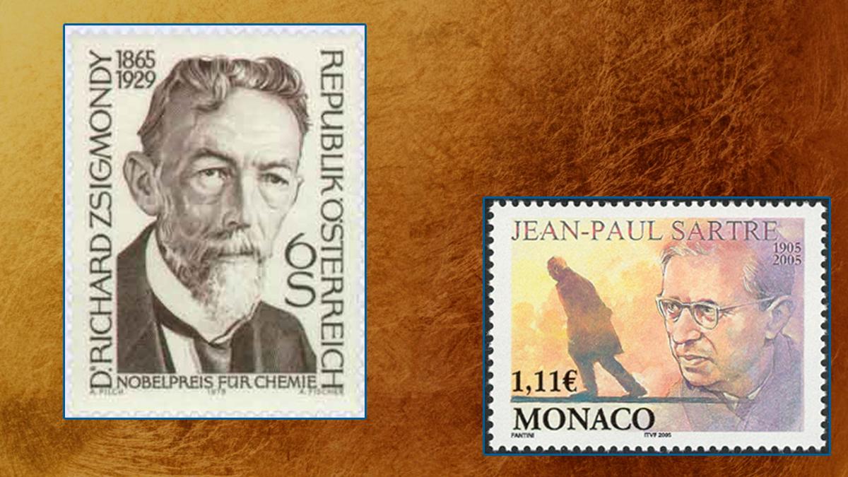 Nobel Laureates on Stamps