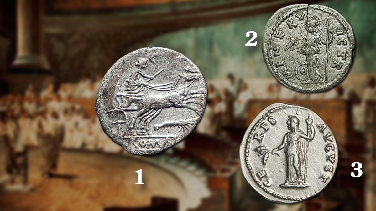 Goddesses on the Roman coins