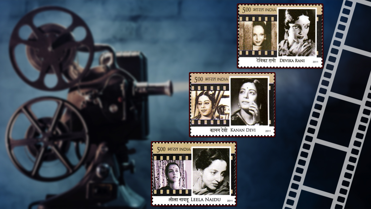 Legendary Actresses of Indian Cinema on Stamps