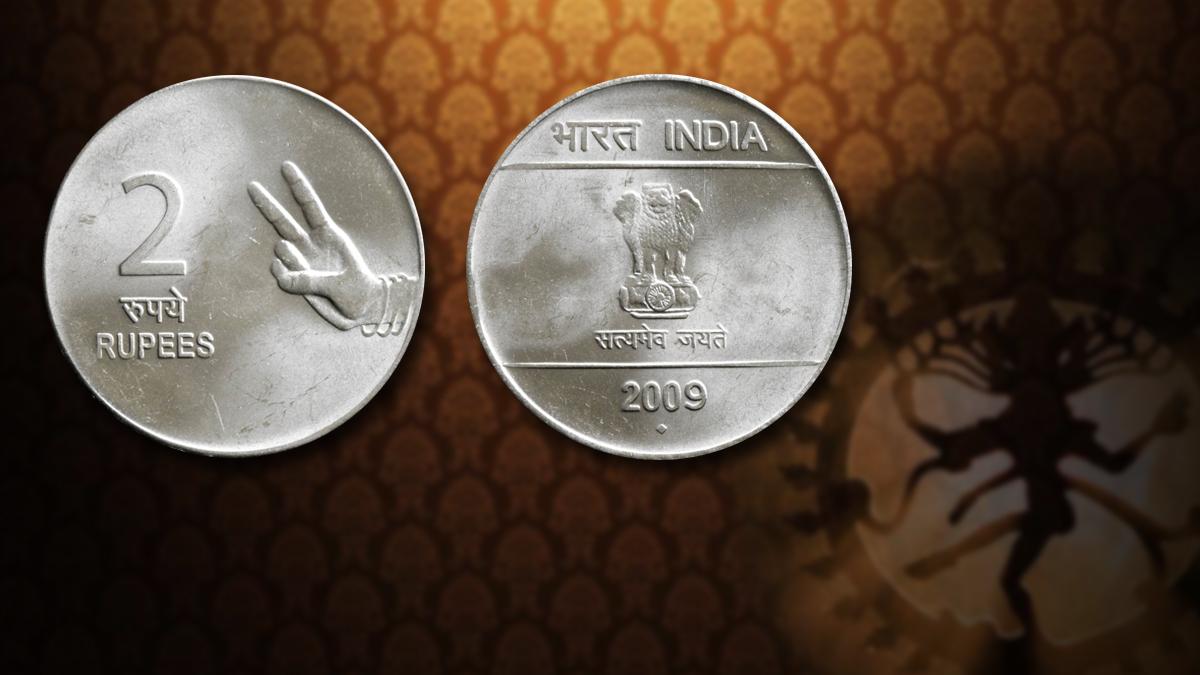 Bharatnatyam Hasta Mudras Depicted on Coins