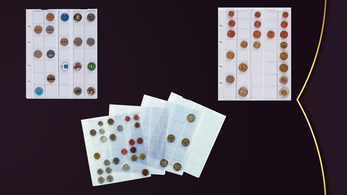 coin collector sheets