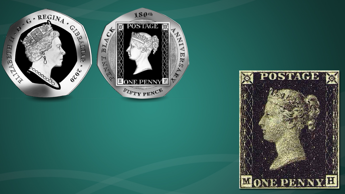 Commemorative Coins depicting Postage Stamps